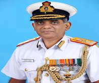 Vice Admiral AA Pawar