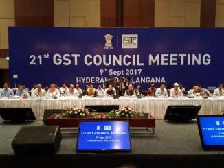 21st GST Council meeting underway in Hyderabad-indian Bureaucracy