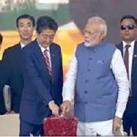 Modi and Japanese PM