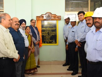 MoS for Coal inaugurates site office & Major Equipment's for NNTPP at Neyveli