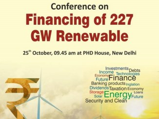 Conference on Financing of 227 GW Renewable