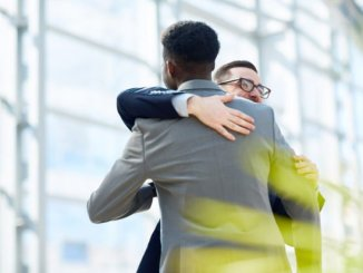 Hugs may help protect against conflict-related distress