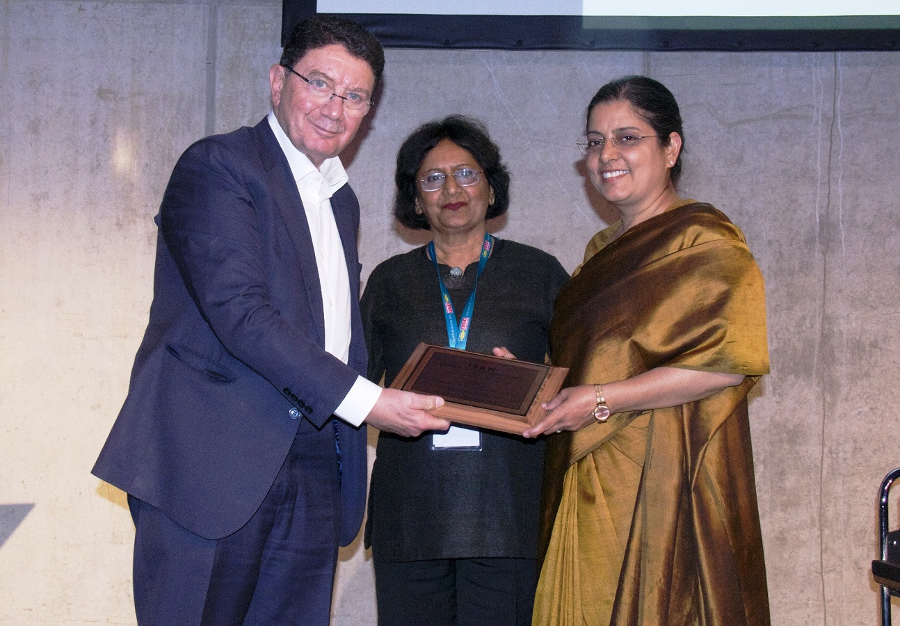 CMD, ITDC conferred with ISAW Women Achiever Award