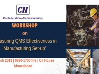 Measuring QMS in Manufacturing Set-up