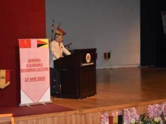 K Sundarji Memorial Lecture