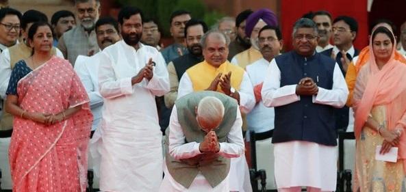 MODI cabinet _indian bureaucracy_ministers_Mos
