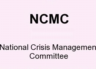 NCMC means - National Crisis Management Committee