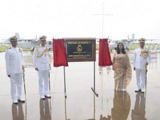 Indian Navy Commissions Dornier Squadron INAS 313