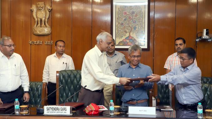 GoI , Tripura and NLFT- SD sign Memorandum of Settlement