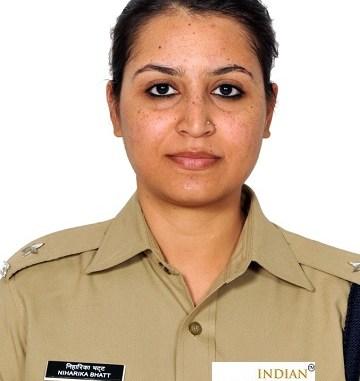 Niharika Bhatt IPS