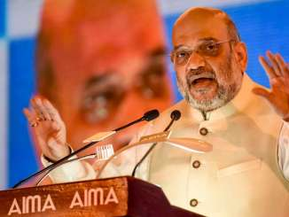 Amit Shah chairs the 46th National Management Convention held b