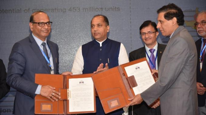 NTPC MoU with HP Govt