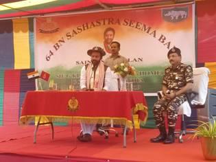 G. Kishan Reddy begins his 3-day visit to Assam & Manipur