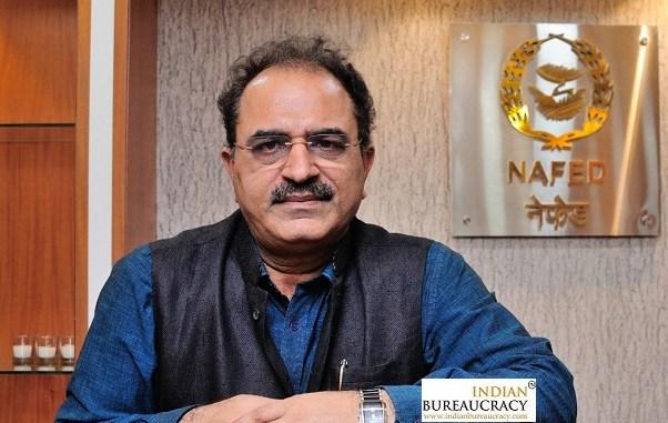 Sanjeev Kumar Chadha IFS CMD NAFED