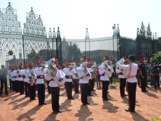 No 'Change of Guard' Ceremony