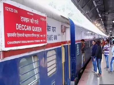 India's prestigious train, Deccan Queen Express running between Mumbai and Pune