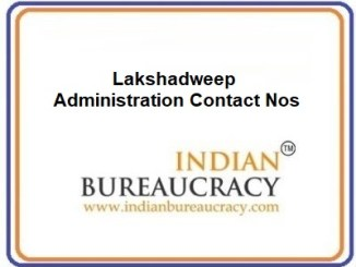 Lakshadweep Administration Contact Nos