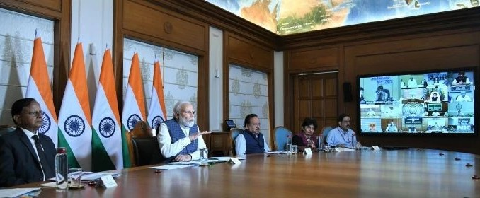 PM interacts with all CMs to combat COVID-19