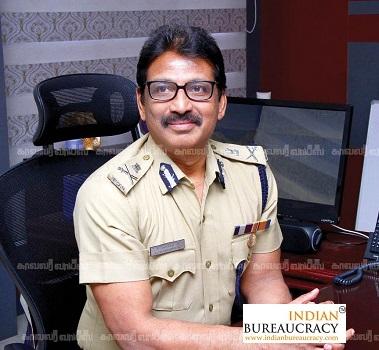 K Jayanth Murali IPS Tamil Nadu