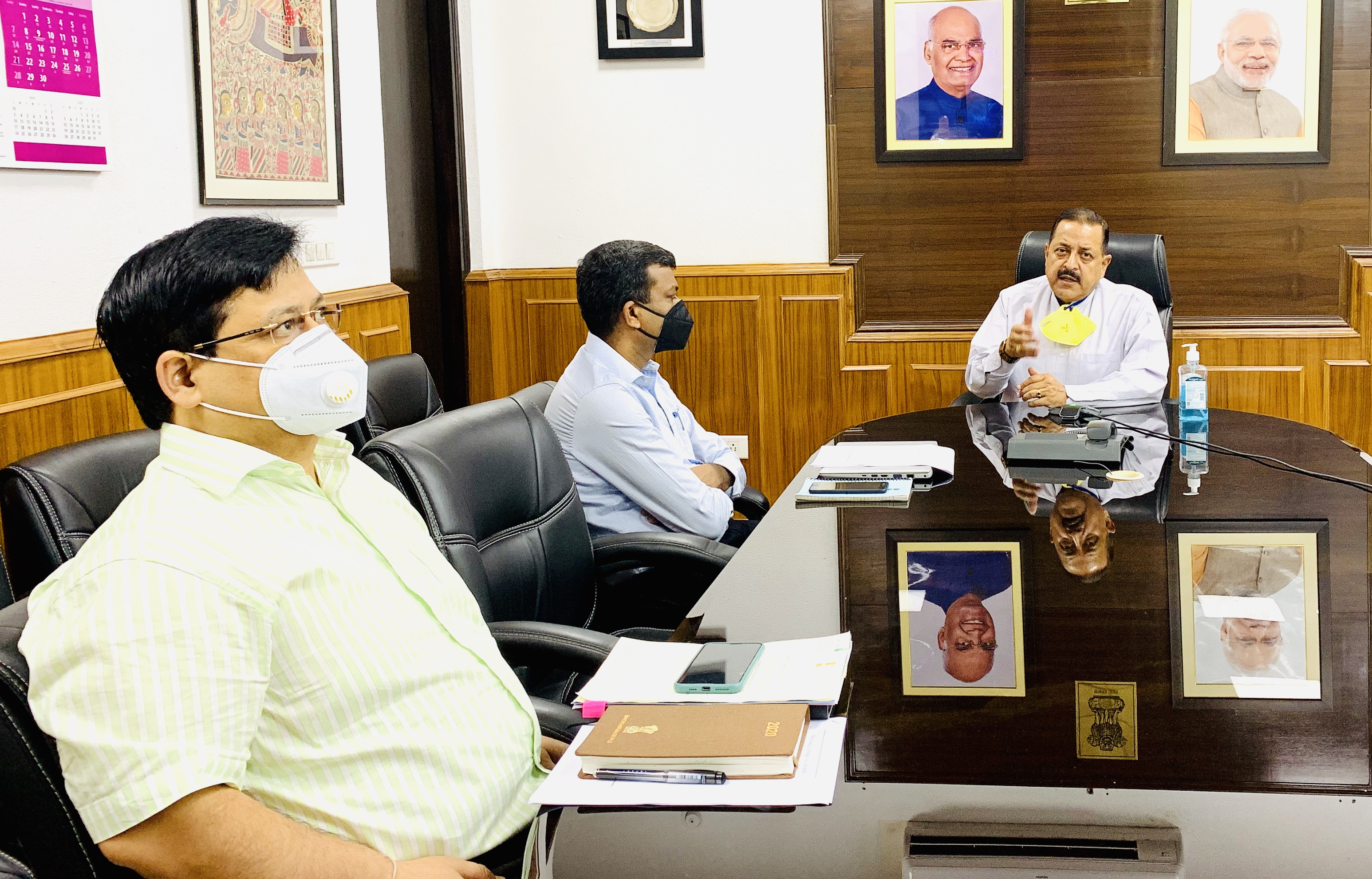 Jitendra Singh advises DARPG to expedite Work From Home Guidelines