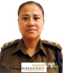 Jubi G Momin IPS Meghalaya