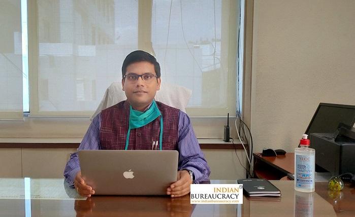 Rishi Garg IAS MP