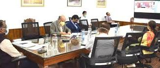 Jal Shakti Minister holds discussion with J&K Lt. Governor through VC for implementation of Jal Jeevan Mission