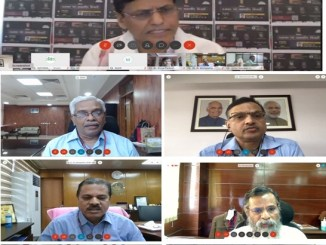 "Nityanand Rai presides over a webinar on ""Thunderstorms and Lightning"