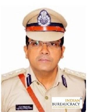 C M Thrivikram Varma IPS AP
