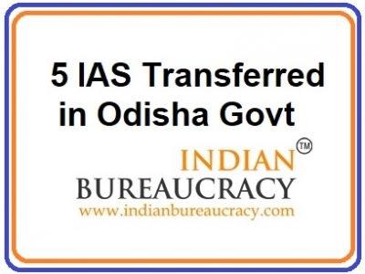 odisha 5 ias