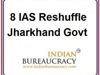 8 IAS Transfer in Jharkhand Govt