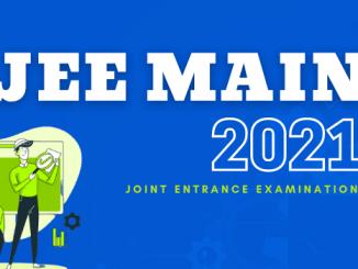 JEE (Main) Examination-2021