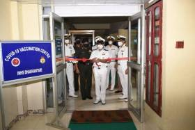 Covid-19 Vaccination Drive Commences in Andaman & Nicobar Command