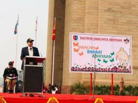 Defence Secretary Inaugurates NCC's Swachhata Pakhwada