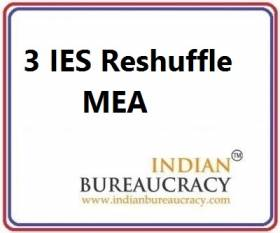 3 IES Transfers at MEA