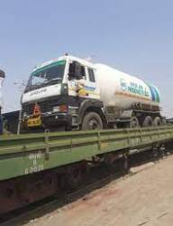 First Oxygen Express rakes leave from Mumbai region to Vizag to