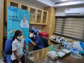 IREDA and NHPC vaccinate