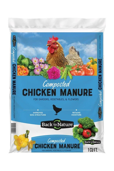 Back to Nature Composted Chicken Manure