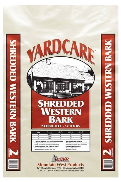 Yard Care Shredded Western Bark