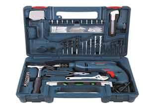Bosch GSB 500 RE 500-Watt Tool Set