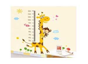 Decals Design 'Kids Giraffe Height Chart' Wall Sticker