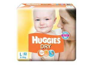 Huggies New Dry Large Size Diapers