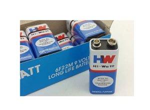 Hi-Watt 9v BATTERY