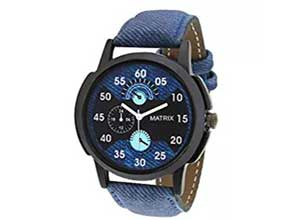 Matrix Analog Blue Dial Men's Watch