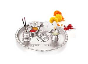 Gurukrupa Magic Silver SubhLabh Set
