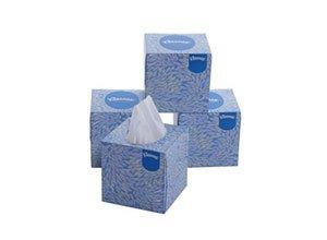 Kleenex Facial Tissue Cube Box
