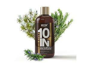 WOW Organics Miracle 10 in 1 Shampoo