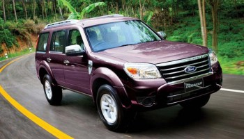 Ford Endeavour 4x2 Automatic Test Drive