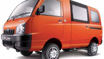 Mahindra Mahindra Launches Next Generation Maxximo Mini Van
