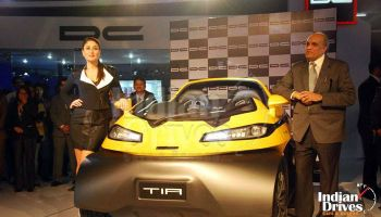Dc Eleron Suv Launched At Rs 35 Lakhs 2014 Auto Expo